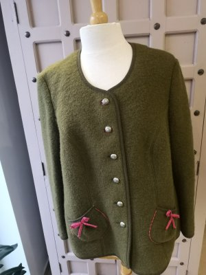 Walbusch Traditional Jacket pink-forest green