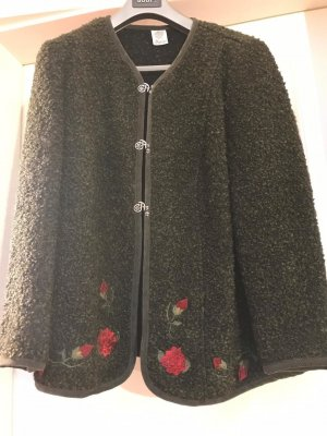 Amann Folkloristische jas donkergroen