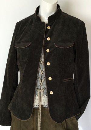 OS Trachten Traditional Jacket dark brown