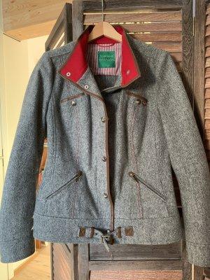 Schneiders Salzburg Wool Jacket grey-dark red