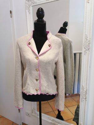 Giesswein Folkloristische jas room-roze