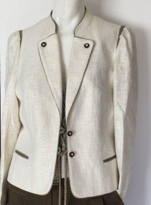 Traditional Jacket cream-green grey