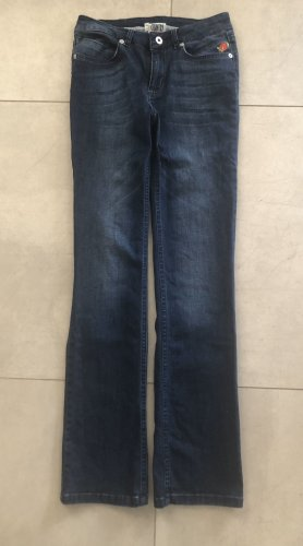 Country Line Straight Leg Jeans dark blue