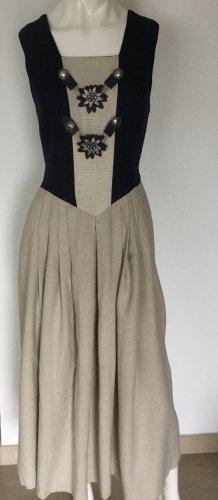 Trachtenkleid aus Leinen / Viskose Gr 38