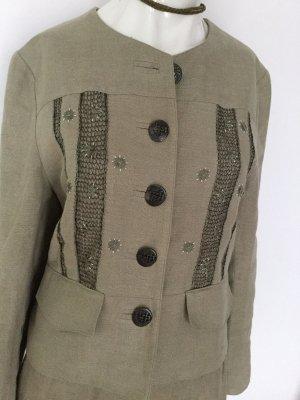 Amann Traditional Jacket oatmeal linen
