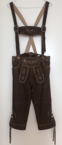 Traditional Leather Trousers light brown-brown leather