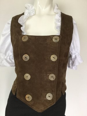 Traditional Camisole brown leather