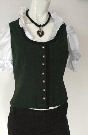 Traditional Camisole dark green-black