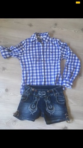 Traditional Trousers blue-white