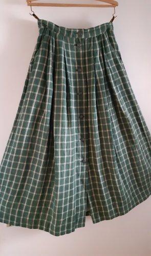 Wenger Austrian Style Tradycyjna spódnica leśna zieleń Len