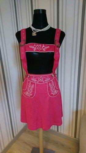 Trachtenrock 70029 mit Stickereien Größe S in pink