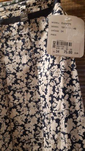 Hammerschmid Traditional Skirt white-blue