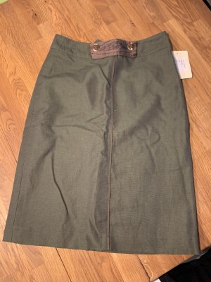 Alpin de luxe Pencil Skirt dark green