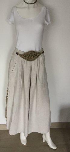 Amann Traditional Skirt light grey linen