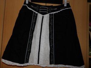 Spieth & Wensky Jupe bavaroise noir ramie