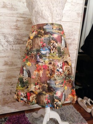 Moser Traditional Skirt multicolored