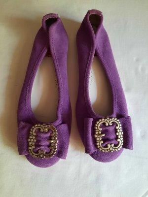 Stockerpoint Classic Ballet Flats purple