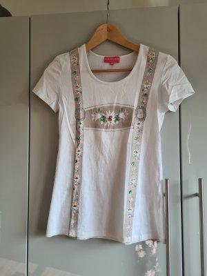 Krüger T-shirt bianco