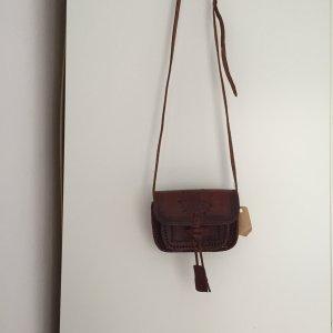 Trachtentasche aus Leder