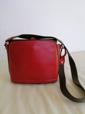 Traditional Bag red-green grey