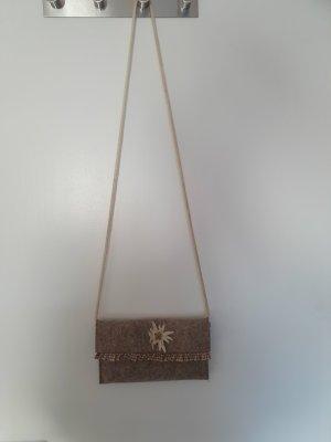 / Tradycyjna torebka beżowy-kremowy