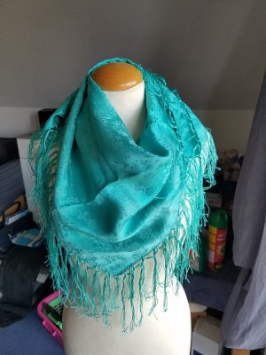 Traditional Scarf turquoise