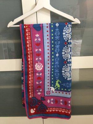 Spiegelburg Tradycyjna chusta różowy-niebieski Poliester