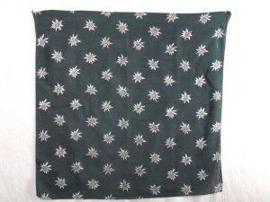 Traditional Scarf dark green cotton