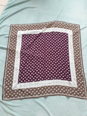 s.Oliver Traditional Scarf purple-grey brown