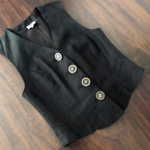 Hammerschmid Traditional Vest black linen