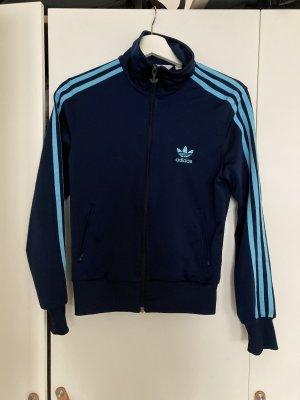 Adidas Originals Sportjack donkerblauw-lichtblauw