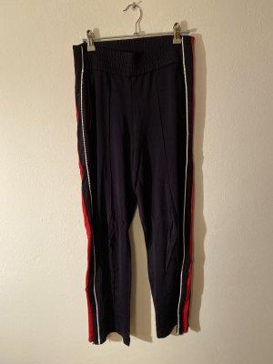 H&M Sweat Pants dark blue-red