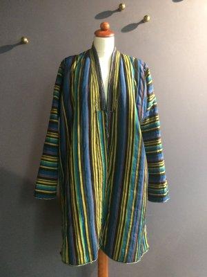 Vintage Gewatteerde jas veelkleurig Katoen