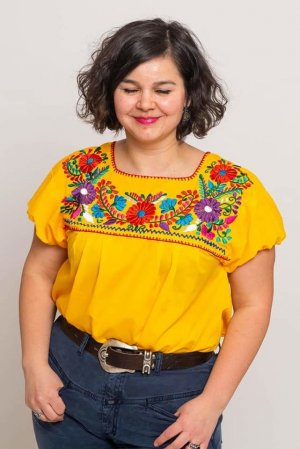 Traditionelles mexikanisches Hemd