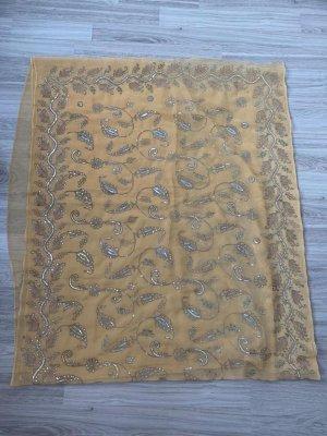 Robe portefeuille brun sable