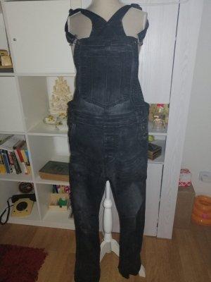 Pantalone boyfriend nero-grigio scuro