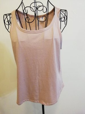 H&M Basic Strappy Top light brown