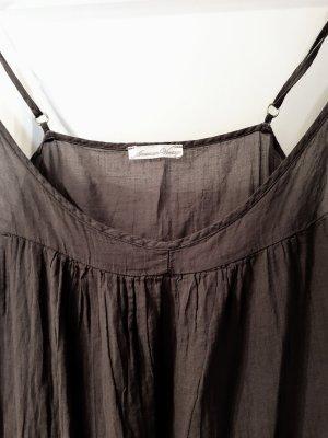American Vintage Overgooier grijs-bruin-donkergrijs Katoen