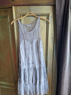 Bleifrei Pinafore dress silver-colored-light grey