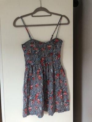 Trägerkleid, Blumenprint