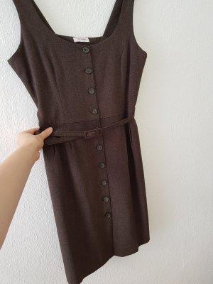Orsay Vestido tipo overol marrón-marrón oscuro