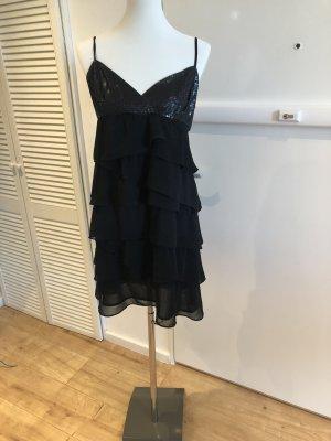 Trägerkleid/Cocktailkleid mit Rüschen