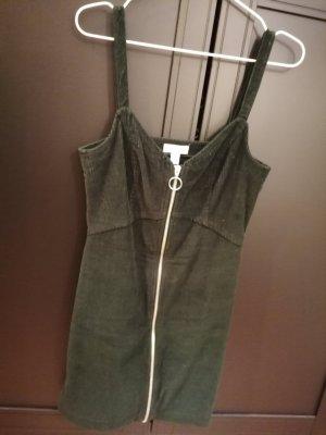 Trägerkleid dunkelgrün