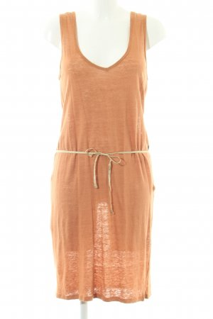 Trägerkleid dunkelorange-goldfarben Casual-Look