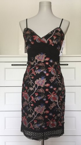 Trägerkleid Festkleid Sommerkleid mit Stickerei neu 36 S
