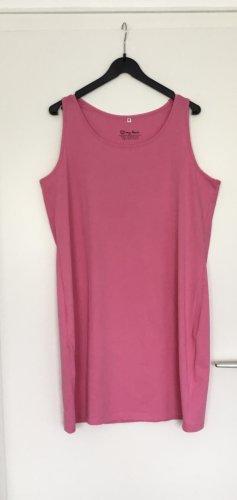 bpc bonprix collection Pinafore dress raspberry-red cotton