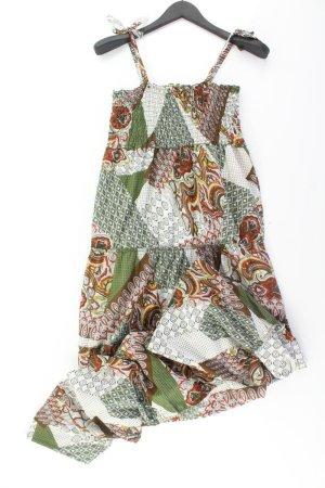 Trägerkleid Größe 40 mit Paisleymuster mehrfarbig aus Baumwolle