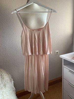 Trägerkleid H&M Basic rosa
