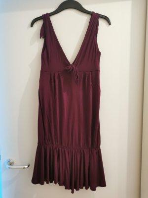 Trägerkleid in Violett