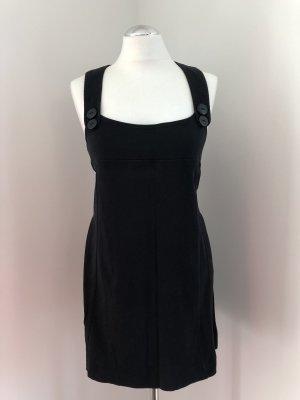 Trägerkleid/Longtop in schwarz